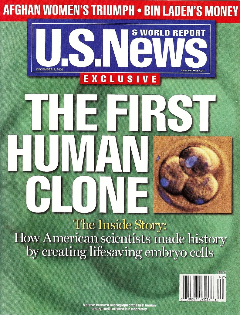 Magazine cover of U.S. News & World Report
